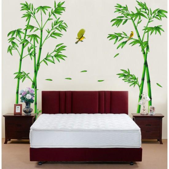 Muursticker Bamboe Vogels