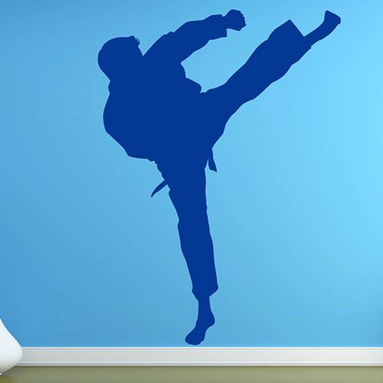 Muursticker Martial Art Krijgshaftig Judo