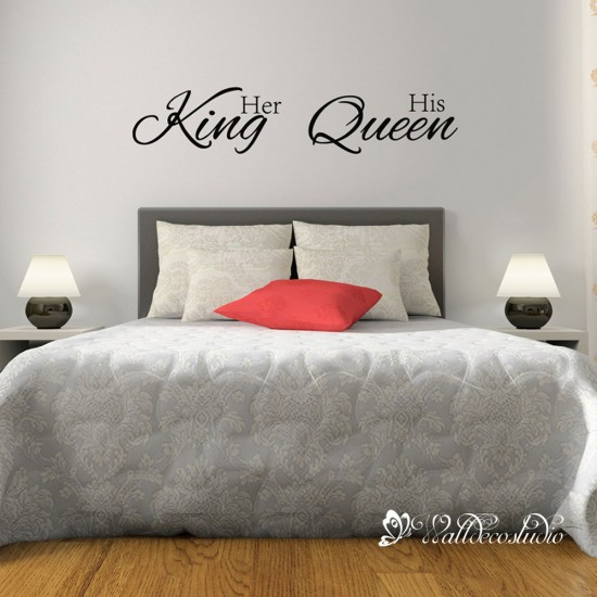 Muurteksten Her King His Queen