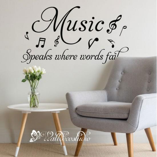 Muurteksten Music Speaks Where Words Fail