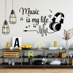 Muurteksten Music Is My Life
