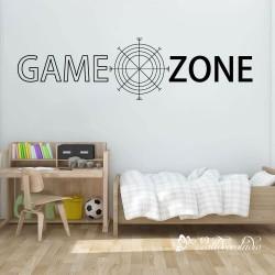 Game Zone Muursticker