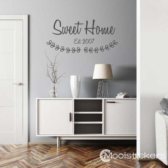 Sweet Home Met Est Year