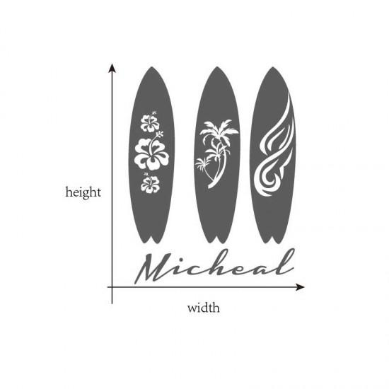 Drie Surfplanken Naam