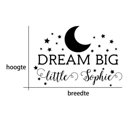 Dream Big Maan Sterren