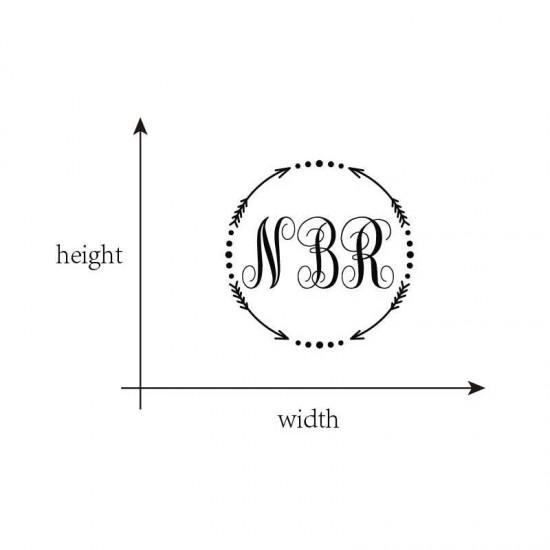 Omcirkelen Met je Eigen Monogram