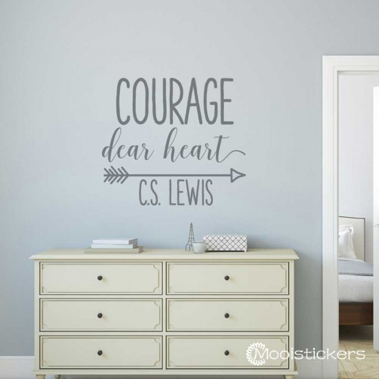 Courage Dear Heart CS Lewis