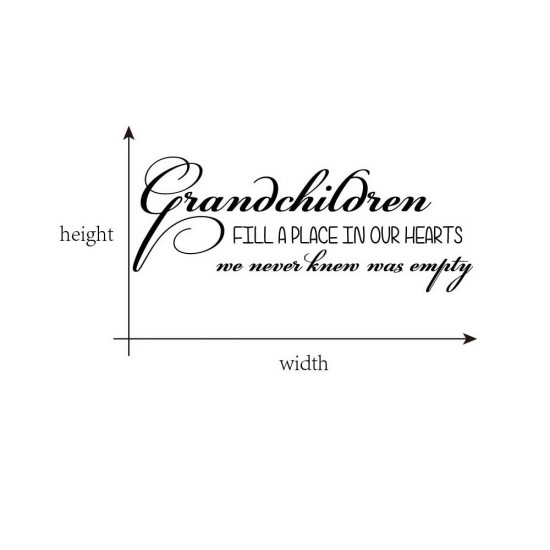 Grandchildren Fill A Place In Our Hearts