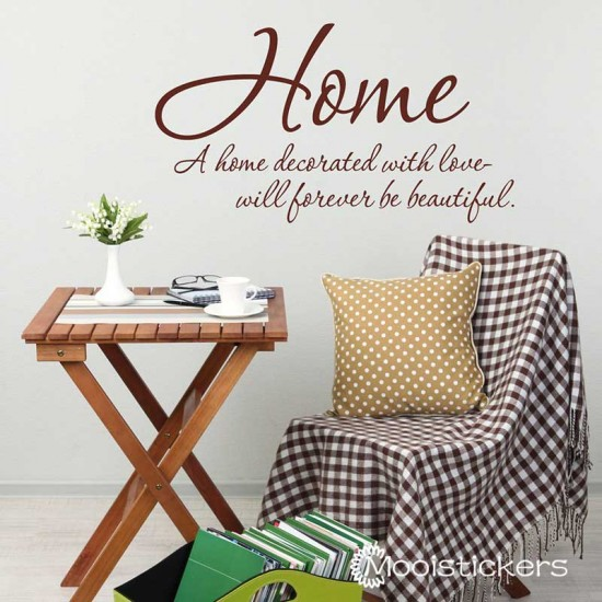 Home Decorated with Love
