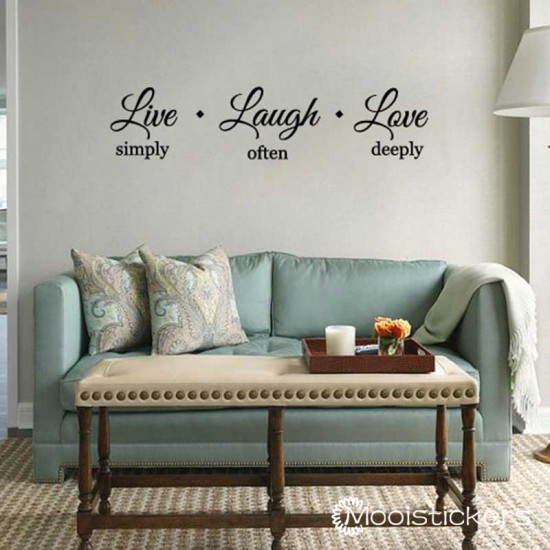 Live Simply Laugh Often Love Deeply