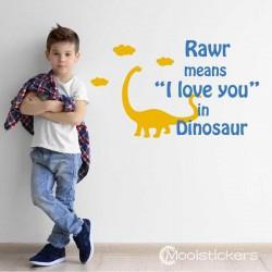 Dinosaur Teksten voor Jongen