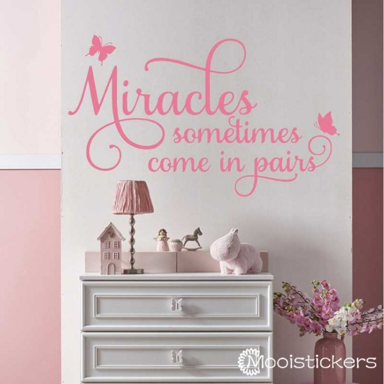 Miracles Somethings Come in Pairs