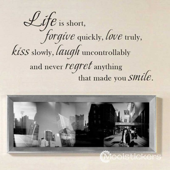 Life Laugh Smile Inspirerende Citaten