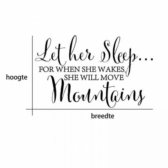 Let Her Sleep Citaten