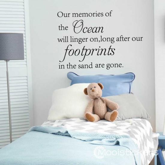 Ocean Footprints Citaten