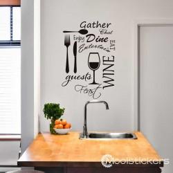 Keuken Eetkamer Stickers