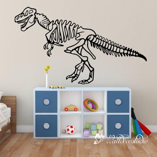 Dinosaur Fossiel Muursticker