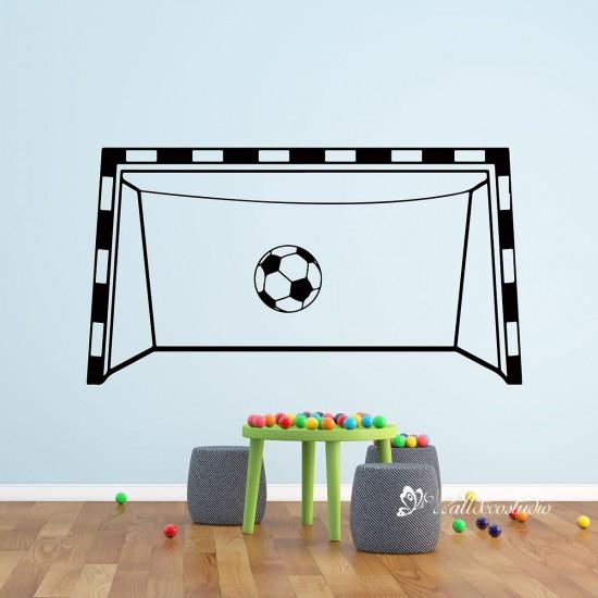 Voetbal Doel Training Net Voetbal Sport Sticker