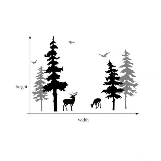 Pijnboom en Herten