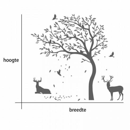 Eikelboom en Herten