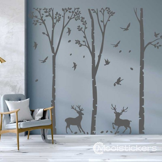 Bomen met Herten