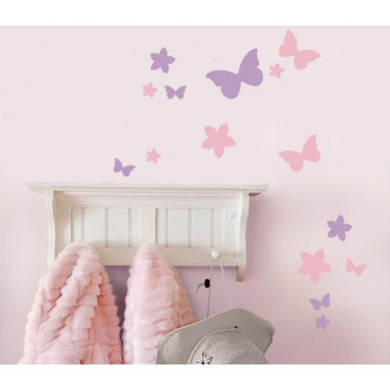 Vlinders en Bloemen