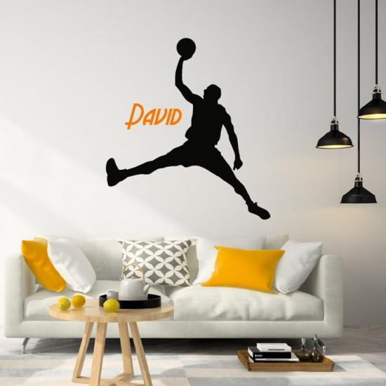 Spring Man Basketbal met Naam