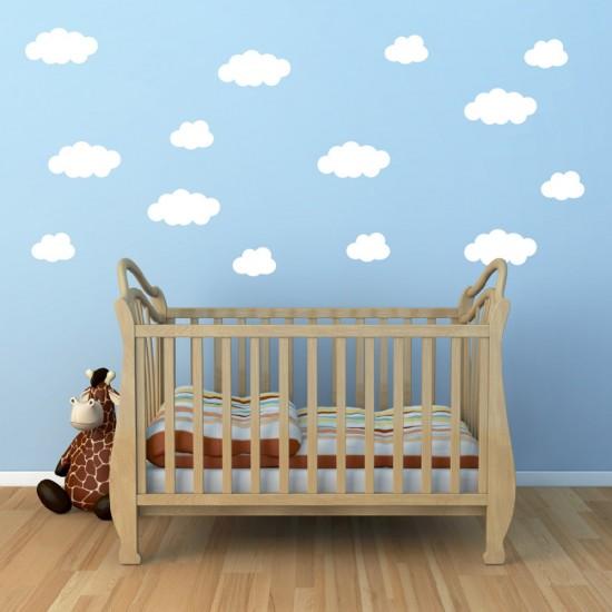 Wolken Sticker