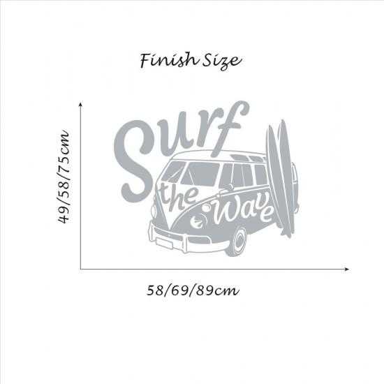 Surf op de Golf Kampeerder