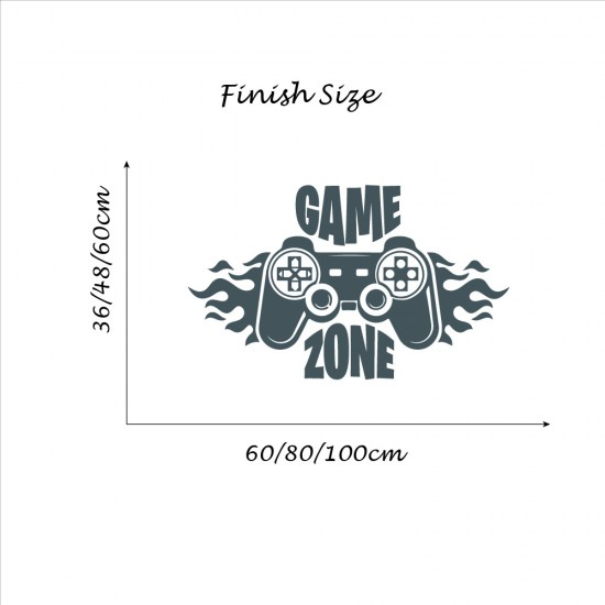 Spel Gebied Gamer Sticker