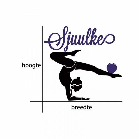 Gymnast en Bal