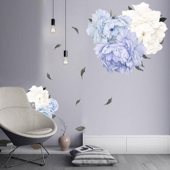 Lichtpaarse Pioenbloemen