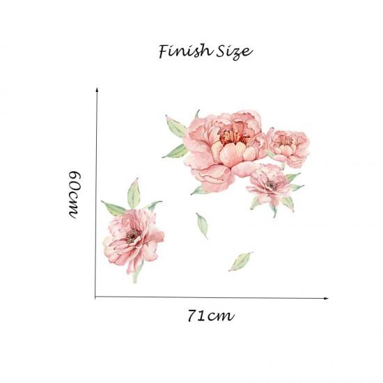 Roze Pioenbloemen