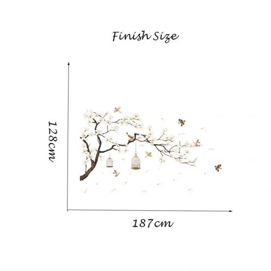 Sakura Bloesemtak Vogels Vogelkooien